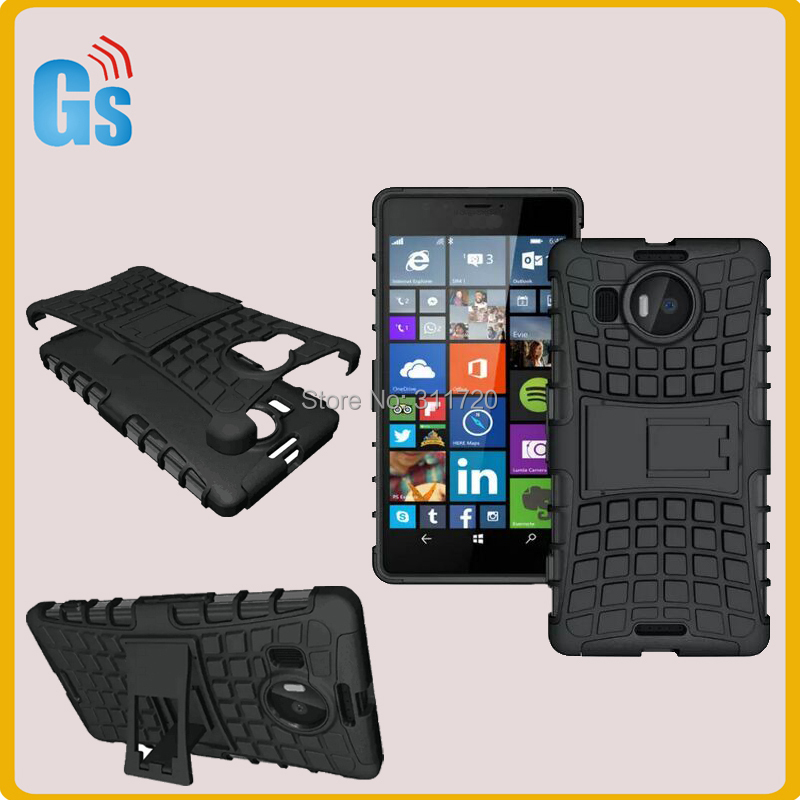 Combo Kickstand Case For Microsoft Lumia 950 XL 950XL Back ...
