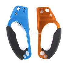 2pcs Right & Left Hand Ascender Rescue Caving Rock Climbing Hauling System(China (Mainland))