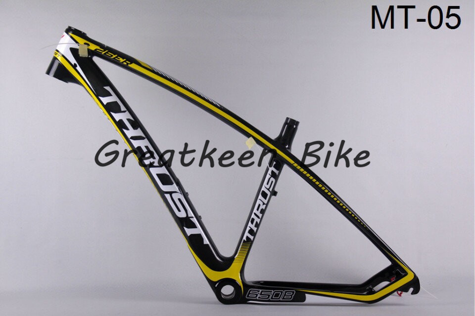 2 years warranty t800 trident thrust mt-05 carbon bike frames carbon bicycle frame time trial frame mountain bike(China (Mainland))