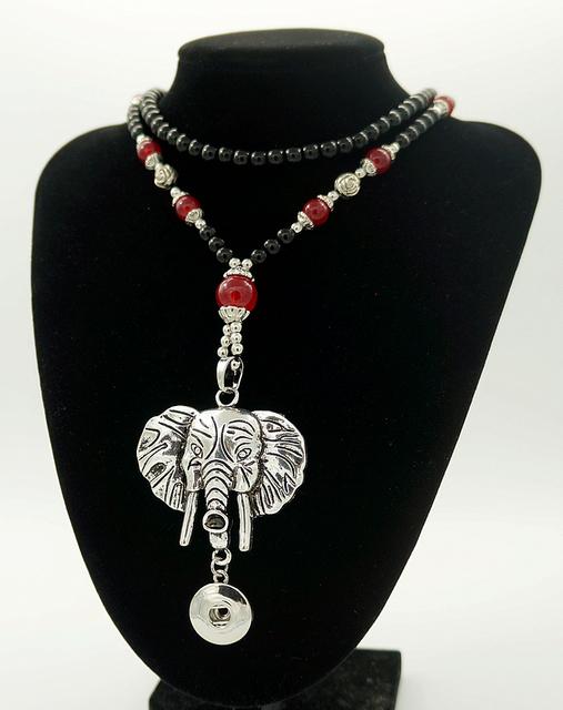 Новый DJ0024 мода бусины оснастки ожерелье слон крылья сова CrossPendant красоты ...