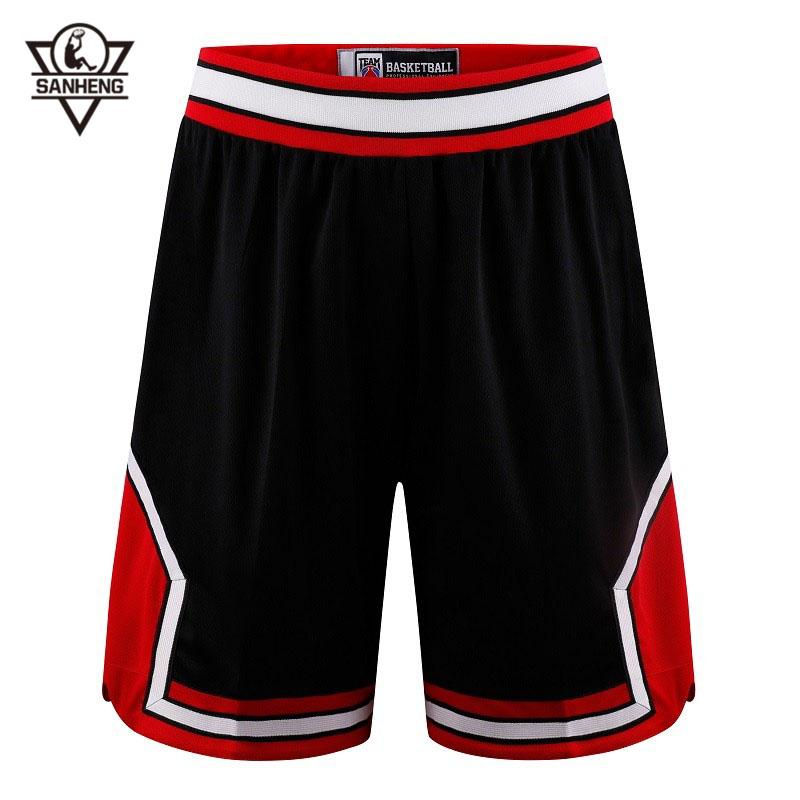 Brand SANHENG Men Basketball Shorts Quick-drying Shorts Men Basketball European Size Basketball Short Pantaloncini Basket 309B(China (Mainland))