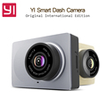 Original International Edition Xiaomi YI Smart Car DVR WiFi Xiaoyi Dash Camera 165 Degree ADAS 1080P