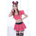 Sexy Cotton Adult Milk Maid Lingerie Halloween Women Dress Cosplay Halloween Costumes Outfit Fancy Dress Free