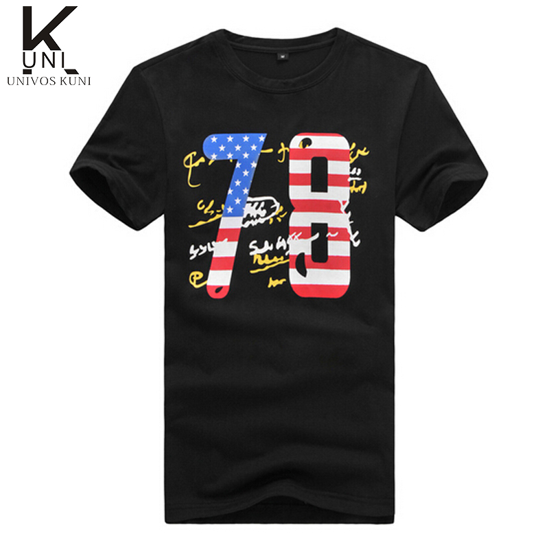 Summer t shirt brand fashion men tees fitness t shirt for Gym printed t shirts