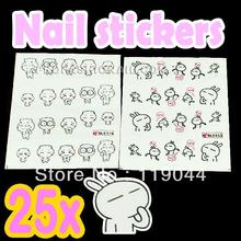 cartoon nail sticker price