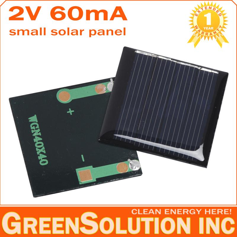 Free Shipping, 2V 60mA Mini Polycrystalline Solar Panel Small Solar Cell Panels for DIY Education Study Kits 0.12W Battery Toy(China (Mainland))