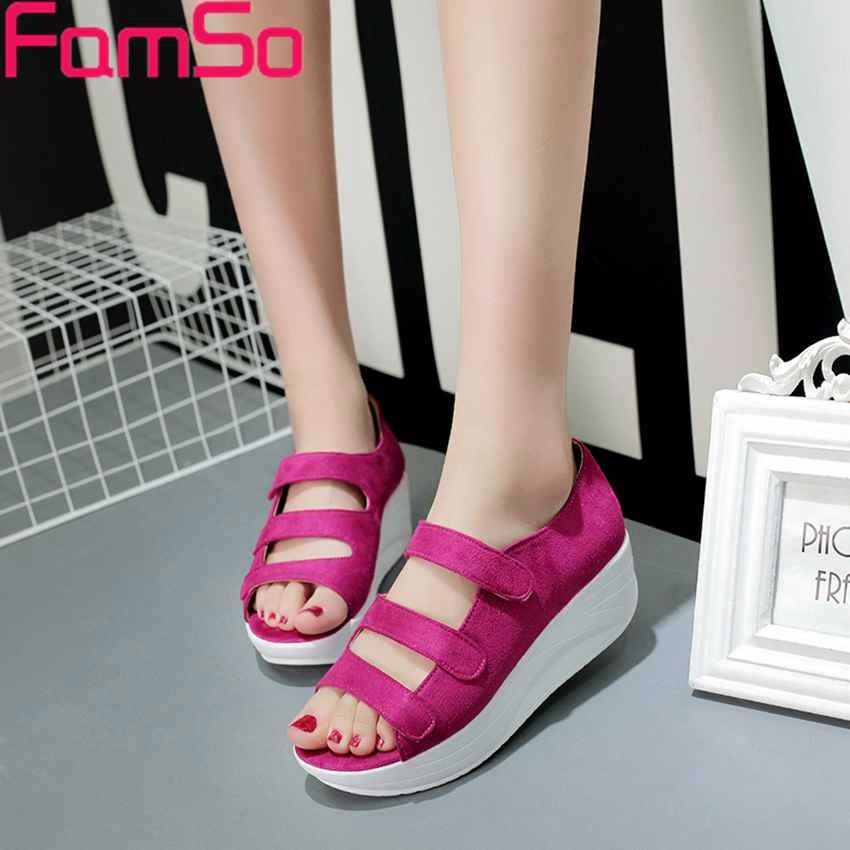ซื้อ จัดส่งฟรี2016รองเท้าผู้หญิงG Ladiatorรองเท้าแตะสีดำฤดูใบไม้ผลิมองลอดนิ้วเท้ารองเท้าส้นสูงรองเท้าส้นสูงรองเท้าย้อนยุคสไตล์ลำลองรองเท้าแตะPS2513