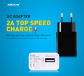 2A Top Speed Charger Original NILLKIN AC 2A EU Europe Standard USB Plug Power Wall Charger