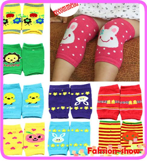 "M112""1Pairs Baby Safety Knee Pad Kids Socks Children Short Kneepad Crawling Protector Free Shipping(China (Mainland))"