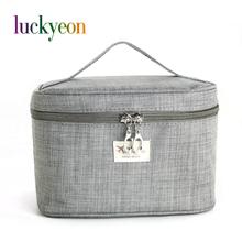 Brand Make Up Bags Women Brush Necessaries Cosmetic Bag Travel Toiletry Storage Box Makeup Bag Wash Organizer Cases(China (Mainland))