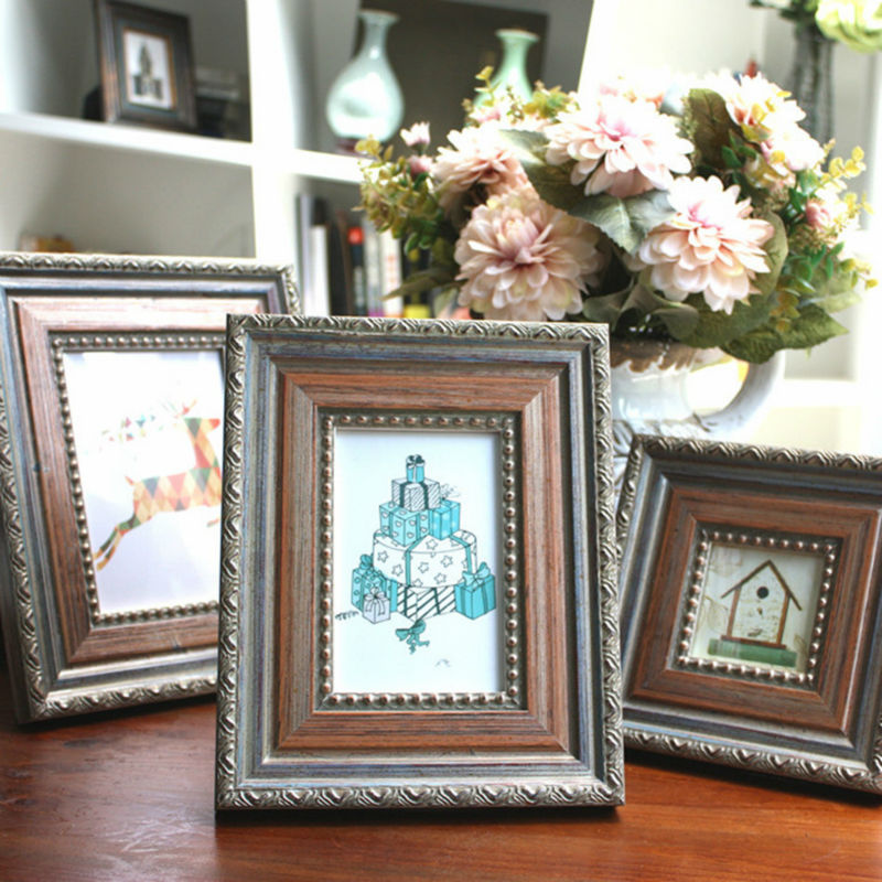 Popular carved wooden picture frames buy cheap carved for American classic frames
