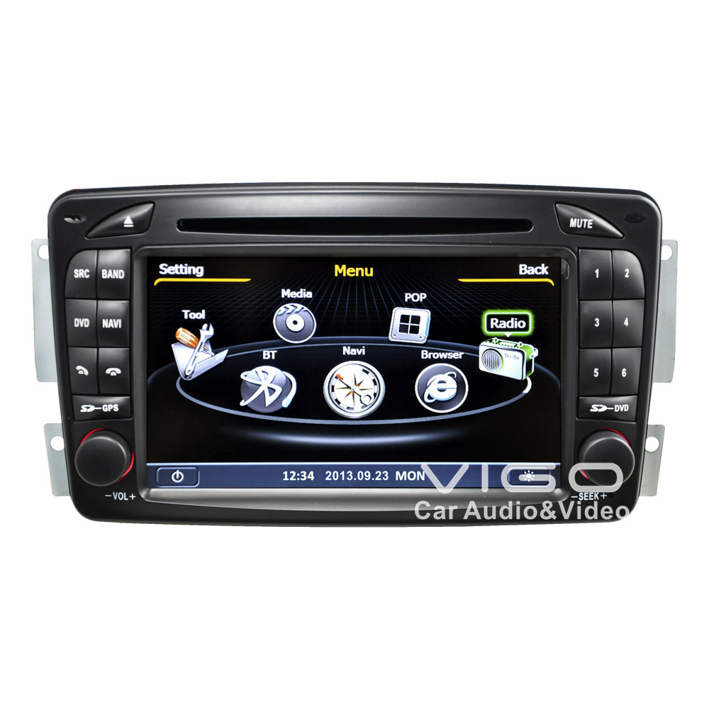 Car stereo gps navigation for mercedes benz vaneo viano for Mercedes benz stereo