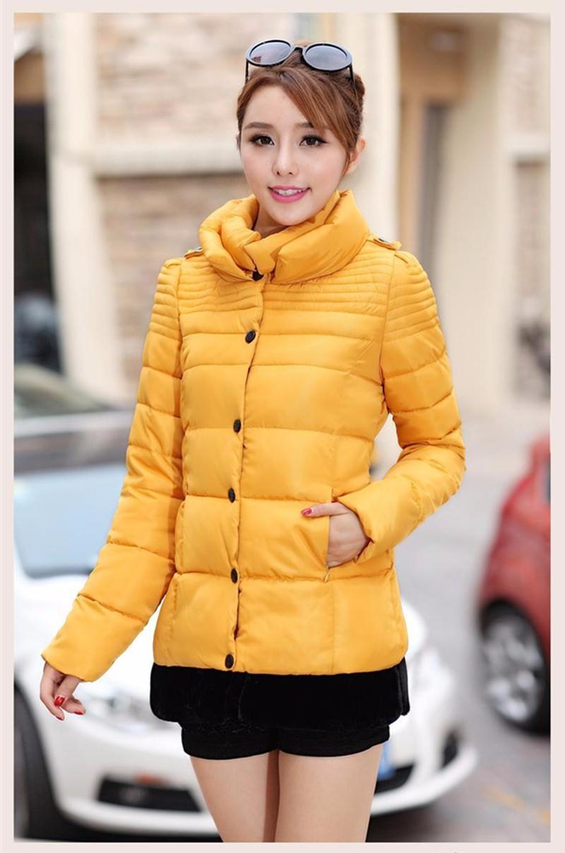 Скидки на 2016 Новый Зимний Женщин Корейской Плюс Размер Тонкий Двойной Воротник Вниз Проложенный Длинный Участок Женщин Пальто Цвета опционально C111