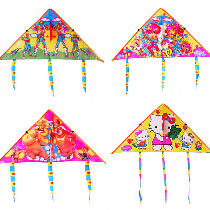 1 Piece Small Triangle Kite for Kids with Bird Pattern(China (Mainland))