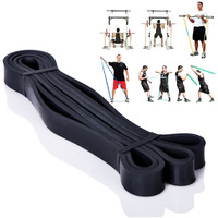 Loop Pull Up Physio Workout Exercise Equipment Bands Rubber Expander Length 208cm Width 2.2cm 25 to 65 Pounds #03009