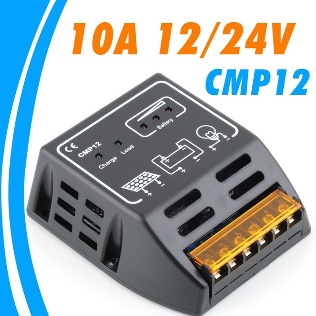 10A solar Charge Controller 12V 24V solar regulator for 120W 240W  Panel Input Classy Application 1 Year Warranty Protection
