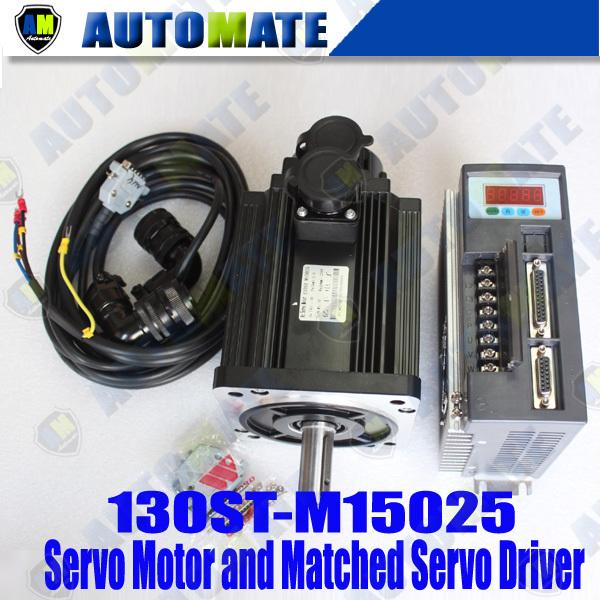 High qualiy servo motor high power driver 130st m15025 15n for High power servo motor