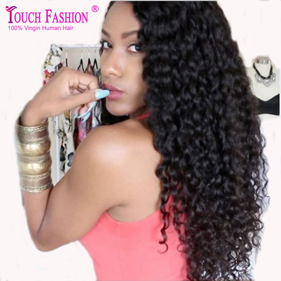 best brazilian deep curly full lace human hair wigs virgin glueless curly lace front wig with. Black Bedroom Furniture Sets. Home Design Ideas