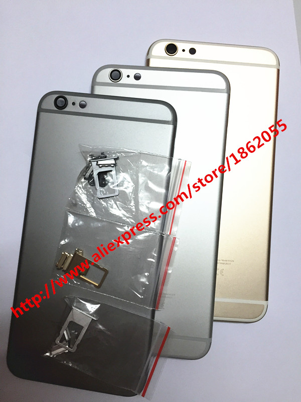 """full Back Battery Cover Middle Frame Metal Back Housing For iphone 6 4.7"""" for 6 plus 5.5"""" battery cover housing Free ship(China (Mainland))"""
