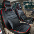 full set car seat cushion custom fit for volvo xc70 seat covers interior accessories black PU
