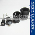 105MM LED Lamp Diode Holder Plastic Black Clip - Original parts are new store