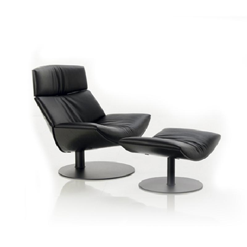 Speciale creatief moderne mode luie middag casual lederen for Luie stoel