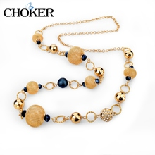 CHOKER Steampunk Rose Gold Statement Necklace For Women Girls Love Maxi Necklaces Ethnic Jewelry 2016 Vintage Accessories Femme(China (Mainland))
