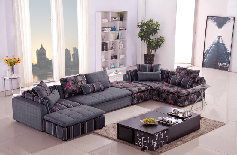 U-BEST European living room corner sofa The combination of residential furniture(China (Mainland))