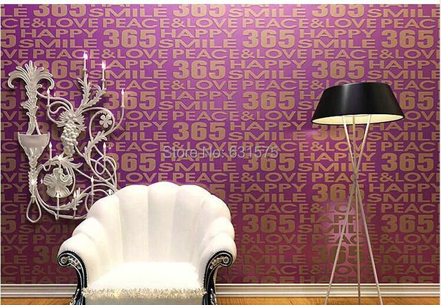Calidad de impresi n flock wallpaper carta papel pintado - Papel pintado aislante termico ...