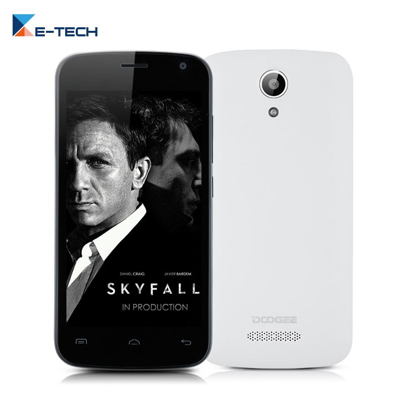 Original DOOGEE X3 Smartphone 4.5 Inch MT6580 Quad-Core Android 5.1 Phone 1GB RAM 8GB ROM Mobile Phone(China (Mainland))