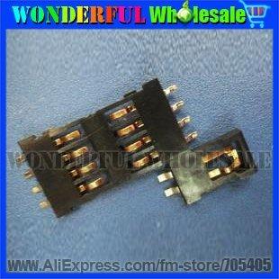 8P,Thick:1.5MM,SIM Memory Card Socket,IC card socket for SMART card CONNTCTOR