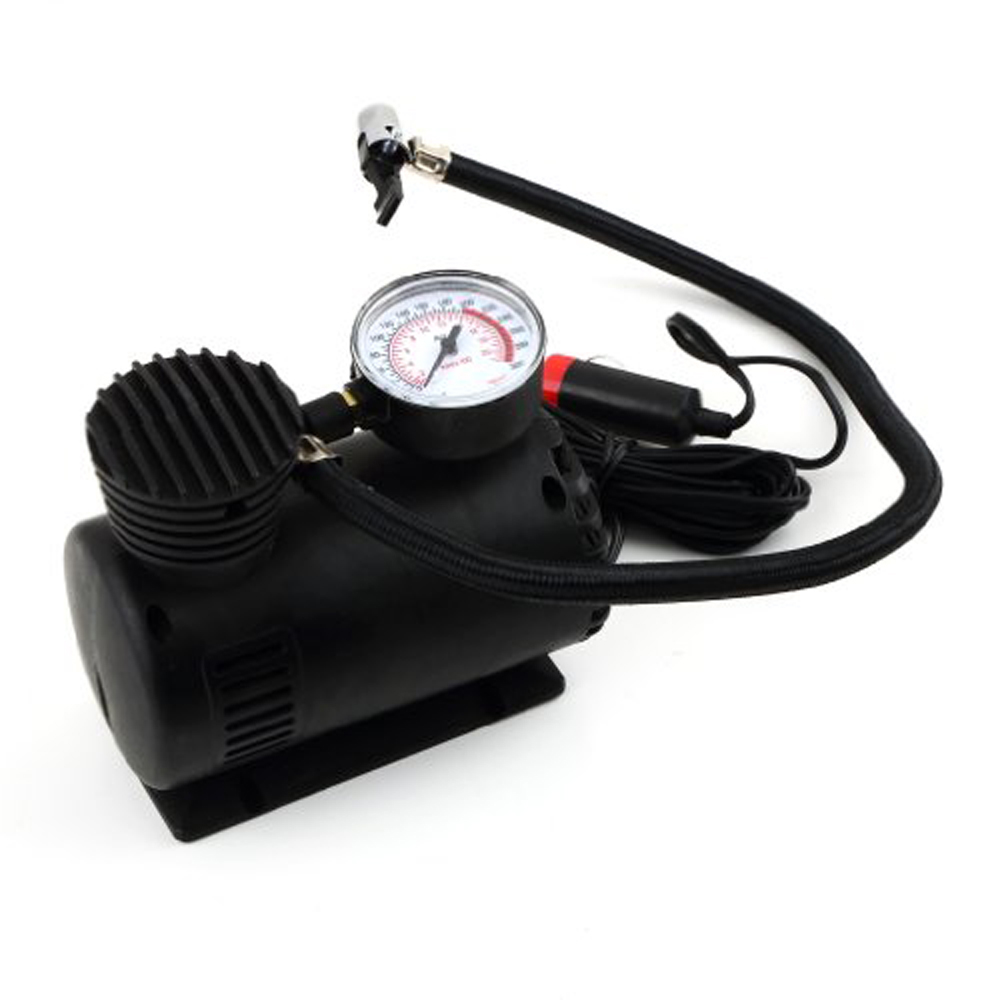YKS Portable 12V Auto Car Electric Air Compressor Tire Infaltor Pump 300 PSI New(China (Mainland))