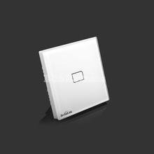 New EU Standard Broadlink TC2 Wireless 1 Gang Wall Light  Switch Wifi Remote Control Touch Screen Switch Smart Home Automation