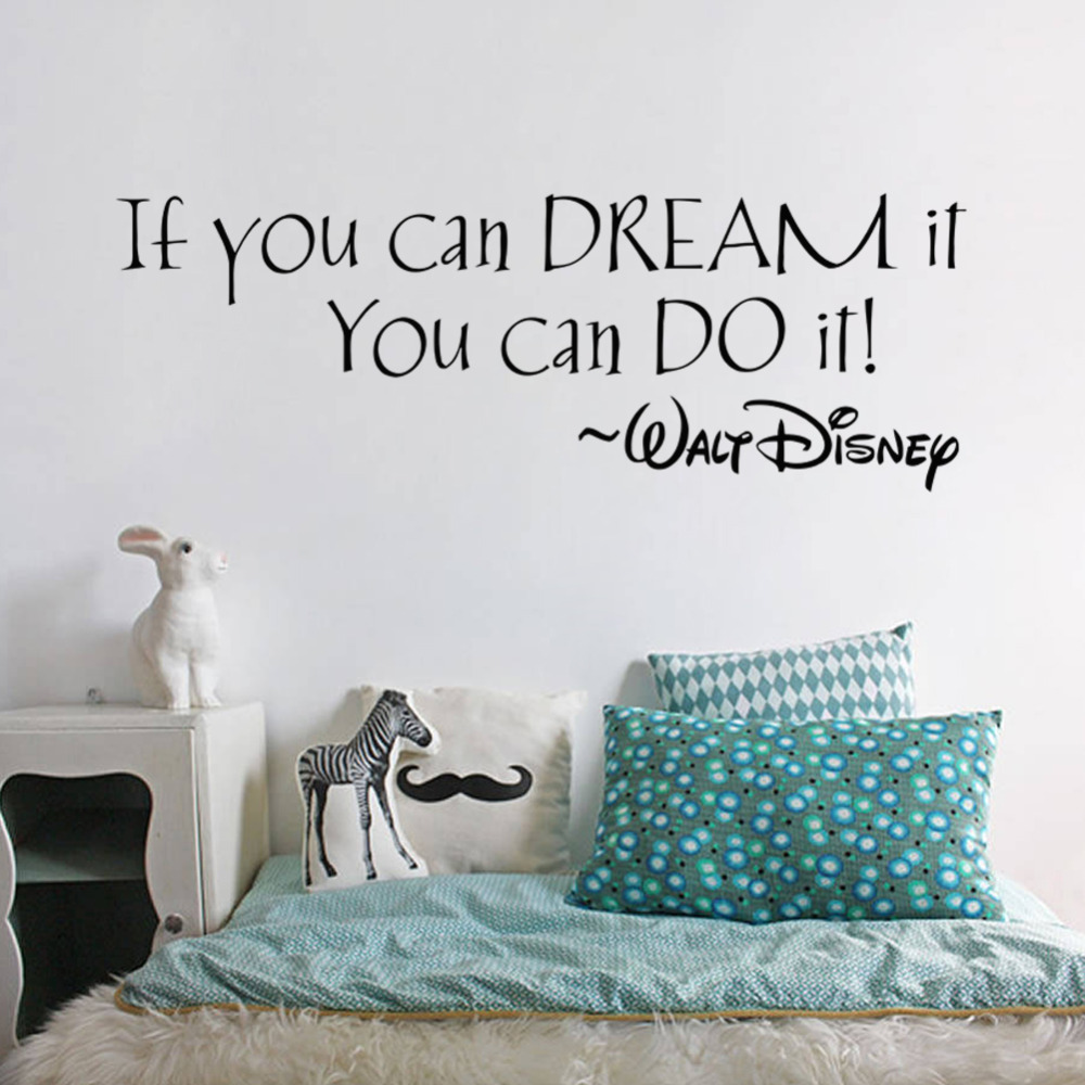 if you can dream it you can do it inspiring quotes wall