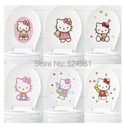 Buy Hello Kitty Toilet Sticker Bathroom