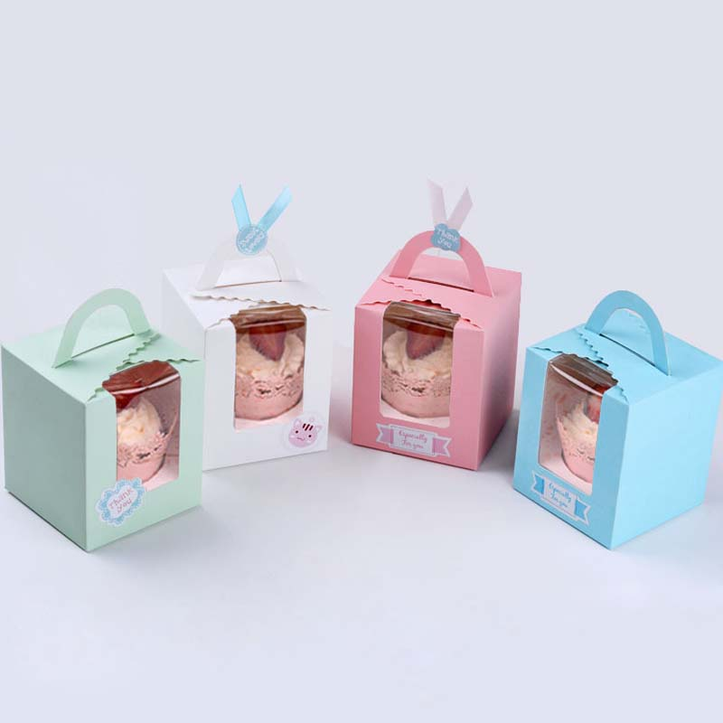 Kitchen Baking Accessories Cupcake Paper Packaging Box