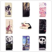 Buy Fashion 3D Relief Painted PU Leather Cover Apple iPhone 5 5S 5G SE Wallet Flip Card Holder Stand Function Phone Case for $3.49 in AliExpress store