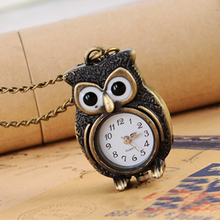 Buy Cindiry Fashion Retro Owl Design Pocket Fob Watch Women Watches Long Necklace Watch Clothing Accessories P35 for $2.47 in AliExpress store