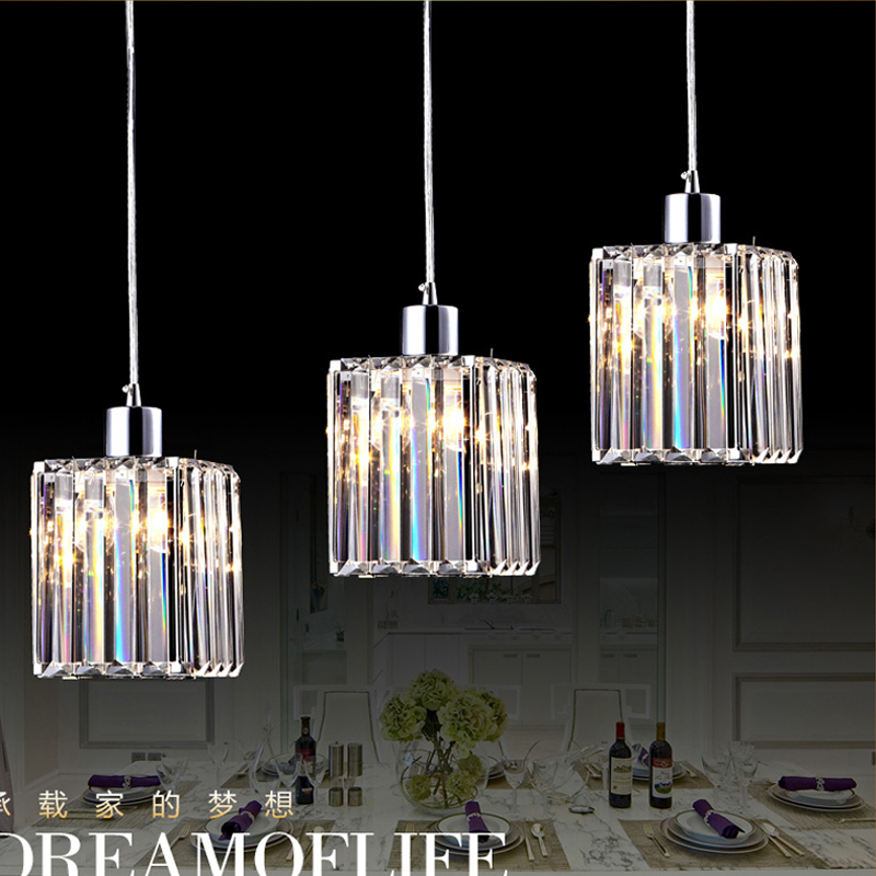 Contemporary dining room pendant lighting