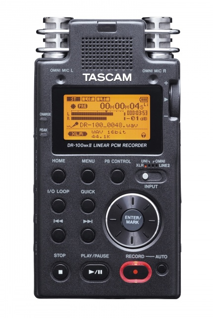 New Hot Tascam dr-100mkii portable digital recorder original recording pen professional high definition Fine Promotions(China (Mainland))