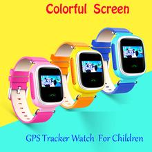 Libere la Nave Niños GPS Reloj Inteligente Reloj SOS de Localización de Llamadas Dispositivo Del Perseguidor del Localizador del buscador de Seguros para Niños Anti Perdido Monitor Q60