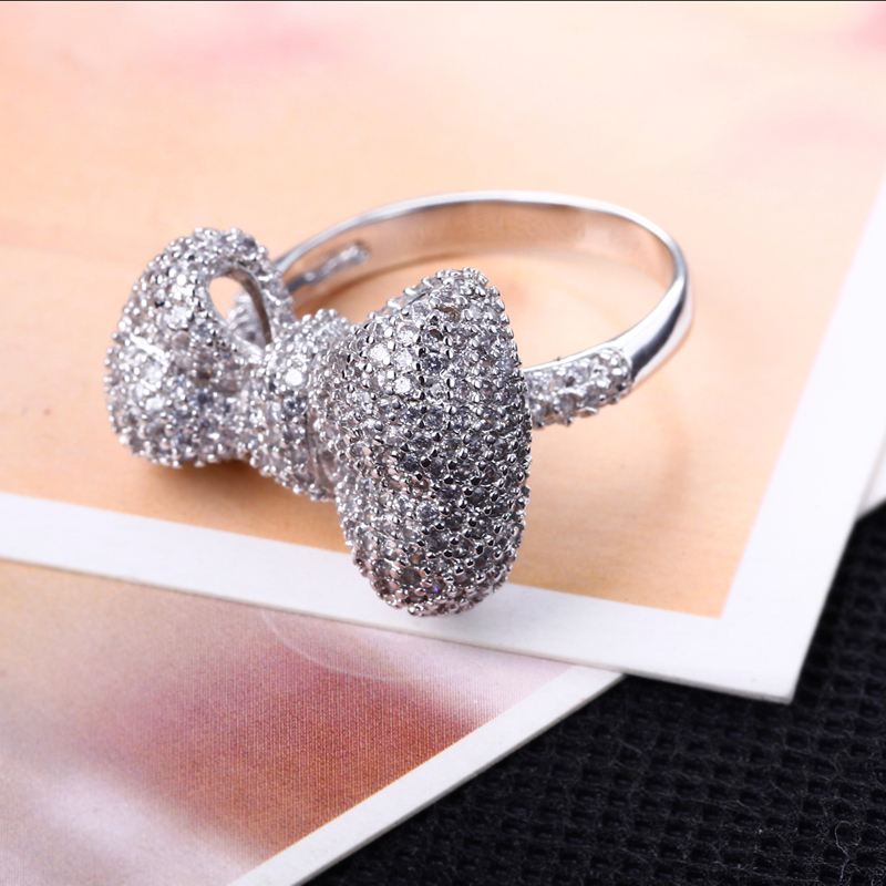 Bowknot Ring hy Bowknot Ring For Girls