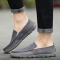 New Arrival Mens Breathable High Quality Casual Shoes Canvas Casual Shoes Slip On men Fashion Flats