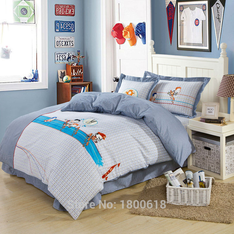 Hurdle Life Cheap Child Comfort Bed Sets Round Corner Bed Sheet Cartoon Style Duvet Cover Bedding Sets Chinese Manufacturing(China (Mainland))