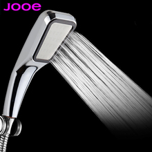 300 hole Pressurized Water Saving Shower Head ABS With Chrome Plated Bathroom Hand Shower Water Booster Showerhead(China (Mainland))