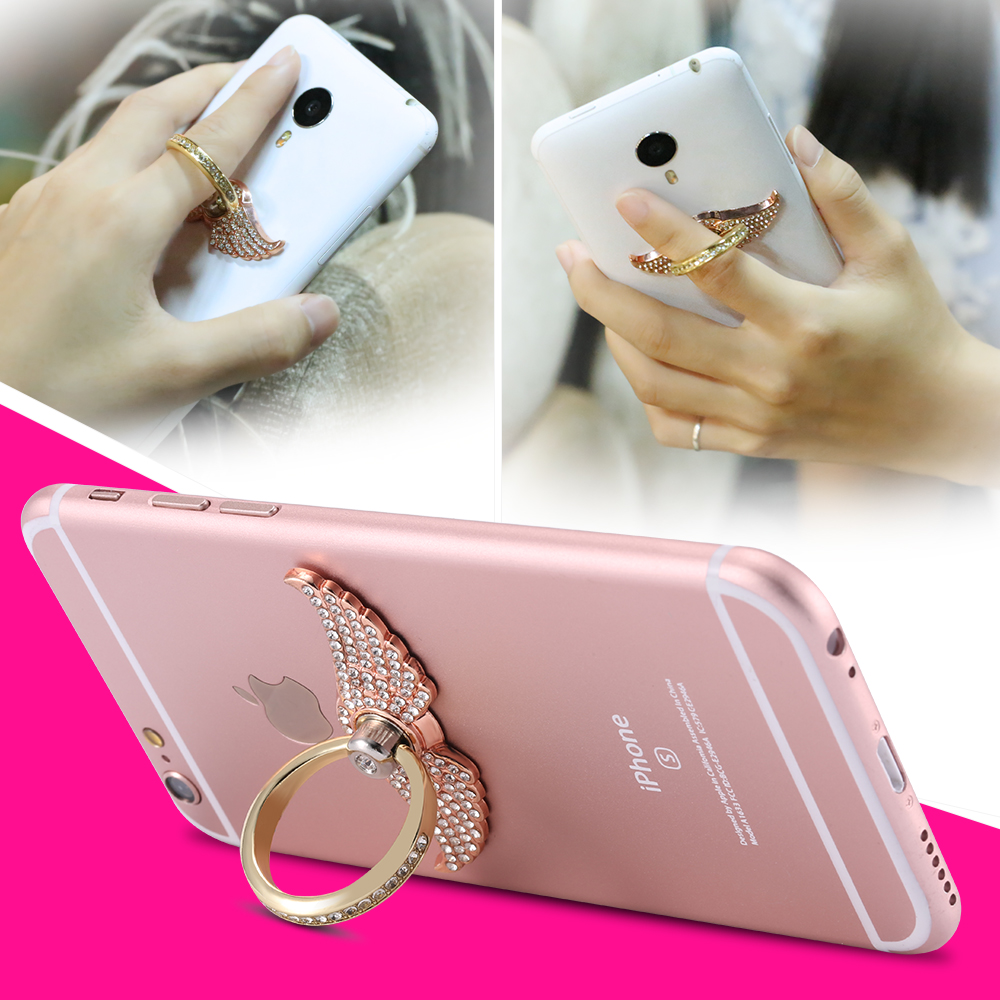 Phone Accessory Metal Ring Universal Multi-Purpose Mobile And Car Holder Grip Kickstand Safe Mobile Secure Bracket Holder Hook(China (Mainland))
