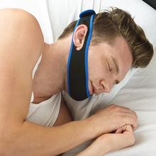 Stop Snoring Chin Strap Anti Snore Chin Strap Snore Belt Sleep Support Anti Apnea Jaw Solution(China (Mainland))