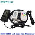 5M Flexible RGBW 5050 SMD LED Strip Light Waterproof DC12V RGB White Diode Tape RGBW Remote