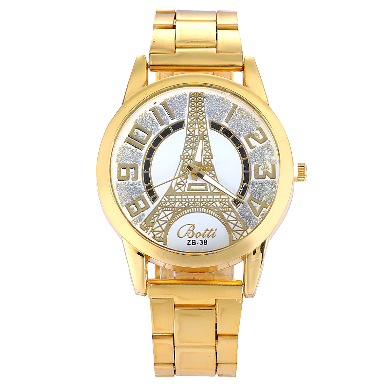 eiffel tower large gold watches luxury