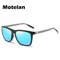 New Men Women Mirror Color Polarized Sunglasses Coating Polarized Lens Vintage Eyewear Goggles Driving UV400 Sun